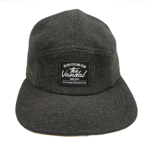 jockey cap dark grey