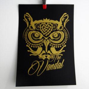 owl zeefdruk