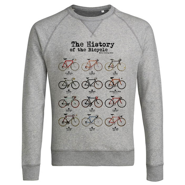 history of the bicycle sweater