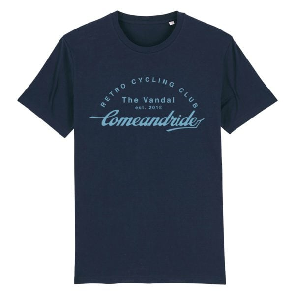 come and ride shirt navy
