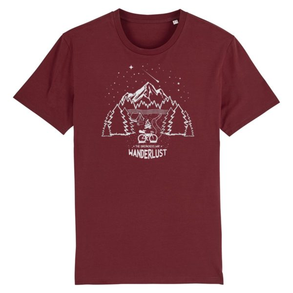 wanderlust shirt bordeaux