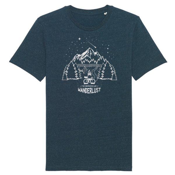 wanderlust shirt denim blue
