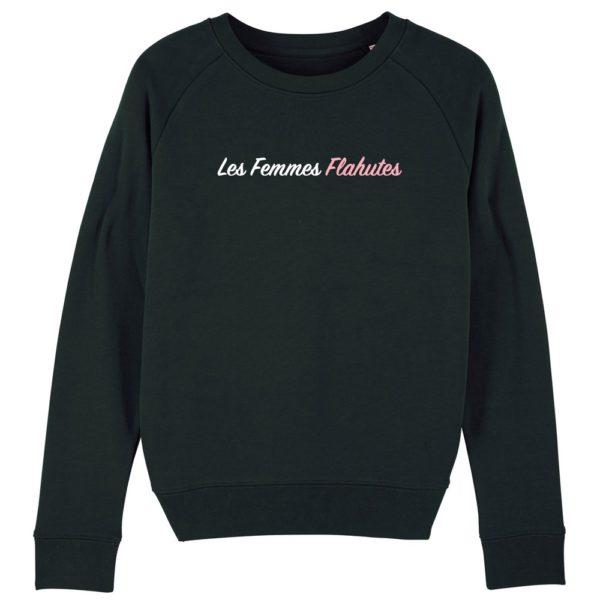 Femmes Flahutes Sweater Zwart